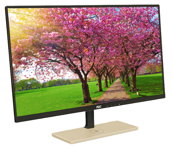 "I'm a Fan of the AOC P2779VC 27"" Monitor with Wireless Charging"