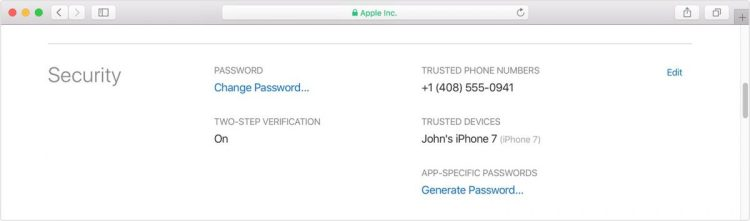 Make Sure Your Apple ID Is Set for Two Factor Verification, NOT Two Step Verification!
