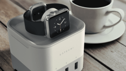 GearDiary Satechi Smart Charging Stand Charges Apple Watch, FitBit Blaze, Smartphone and More
