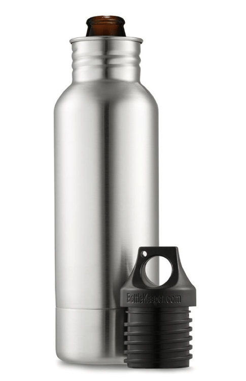 BottleKeeper Keeps Your Beer Fresh and Cold