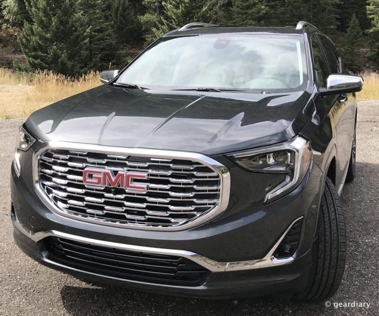 2018 GMC Terrain Denali Test Drive: Touring Yellowstone in Style