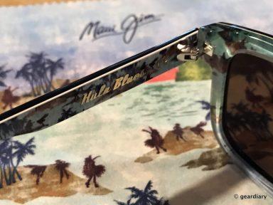 GearDiary Maui Jim Limited Edition Vinylize Hula Blues Sunglasses: More Than Meets the Eye
