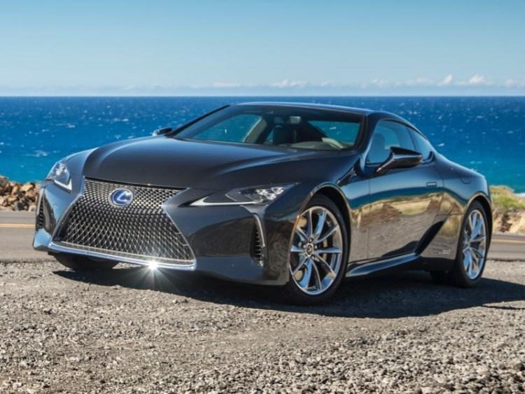 2018 lexus sport coupe. plain lexus 2018 lexus lc 500h hybrid luxury sport coupe a blast from the future for lexus sport coupe
