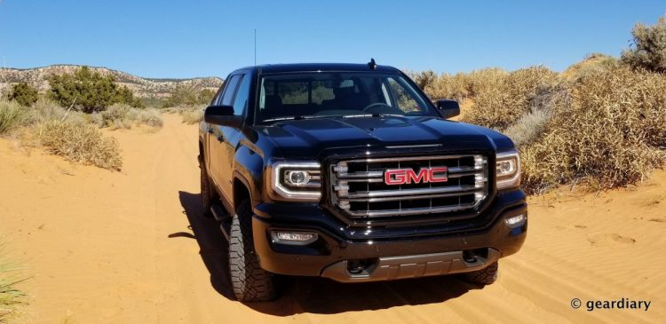 GMC Trucks First Drive: Low-Key Luxury in the Sand