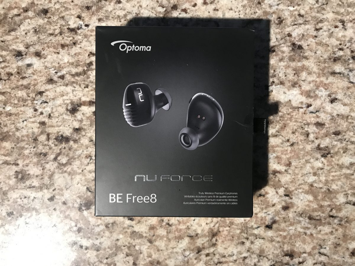Be Free with Optomas New BE Free8 Wireless Earbuds