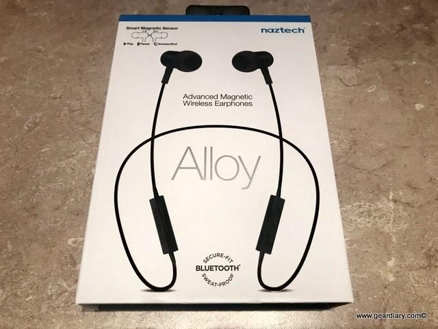 Naztech Alloy Advanced Magnetic Earphones Deliver