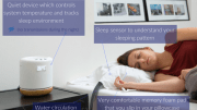 Moona Improves Your Sleep by Adjusting Your Pillow's Temperature