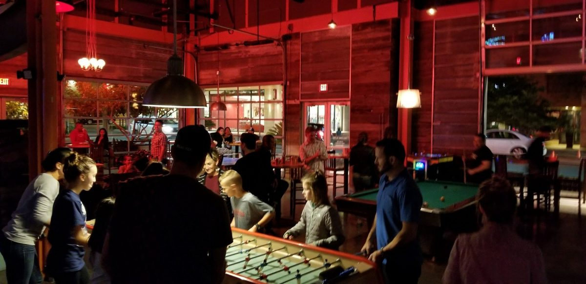 GearDiary Punch Bowl Austin Review: Can VR Gaming Work While Dining?