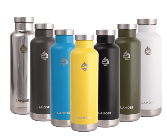 The LAMOSE Moraine Water Bottle Is an affordable Way to Stay Hydrated in Style