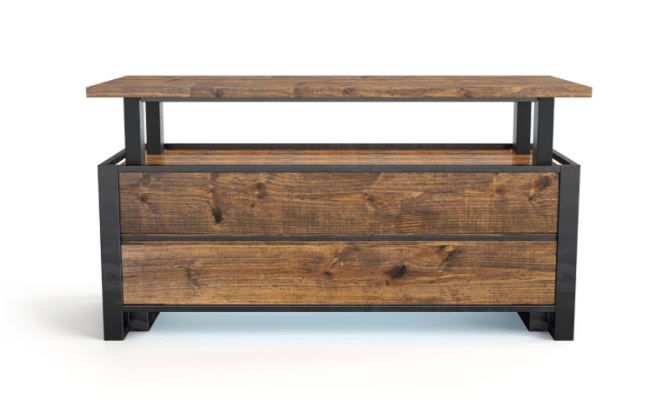 The Xdesk Vintage Line Of Standing Desks Is A Gorgeous