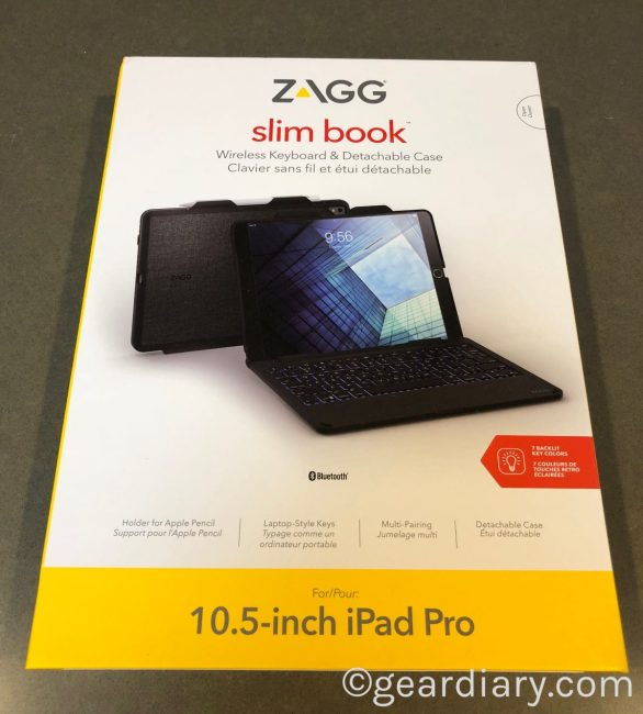 "Be More Productive With the ZAGG Slim Book for the Apple 10.5"" iPad Pro"