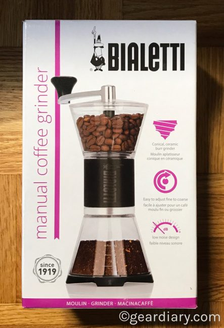 Enjoy Delicious Morning Coffee with the Bialetti Manual Coffee Grinder and Glass Pourover Carafe