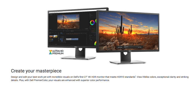 "GearDiary Dell UP2718Q 27"" 4K HDR Monitor Is Impressive with a Price to Match"