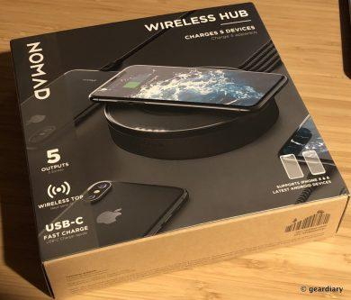 GearDiary Nomad Wireless Hub Review: Organized Power with Wireless Charging