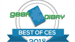 GearDiary Gear Diary's Best of CES 2018 Awards