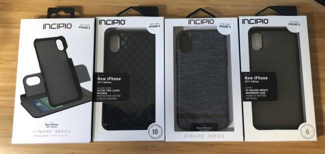 Incipio iPhone X Case Roundup