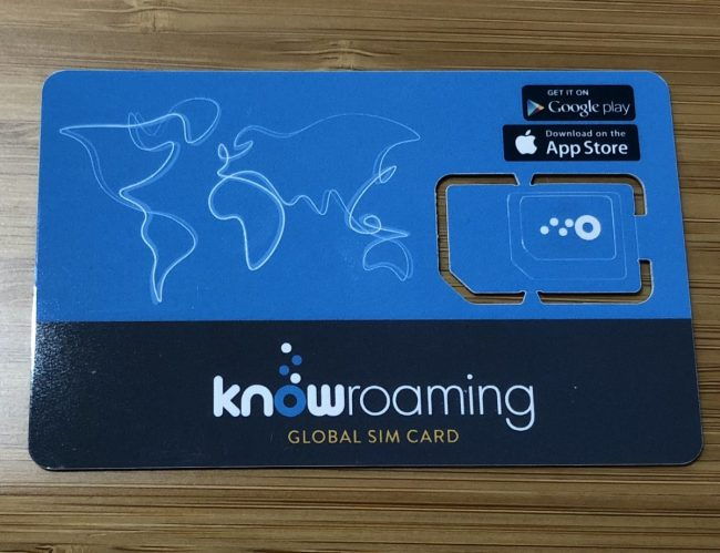 KnowRoaming Is Ideal for Connected Globetrotters