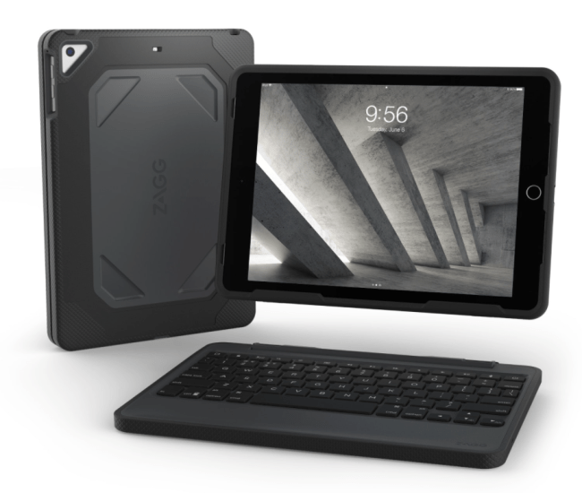 ZAGG Delivers New Rugged Book Wireless Keyboard and Detachable Case