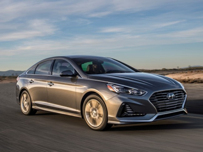 2018 Hyundai Sonata Upgraded to First Class