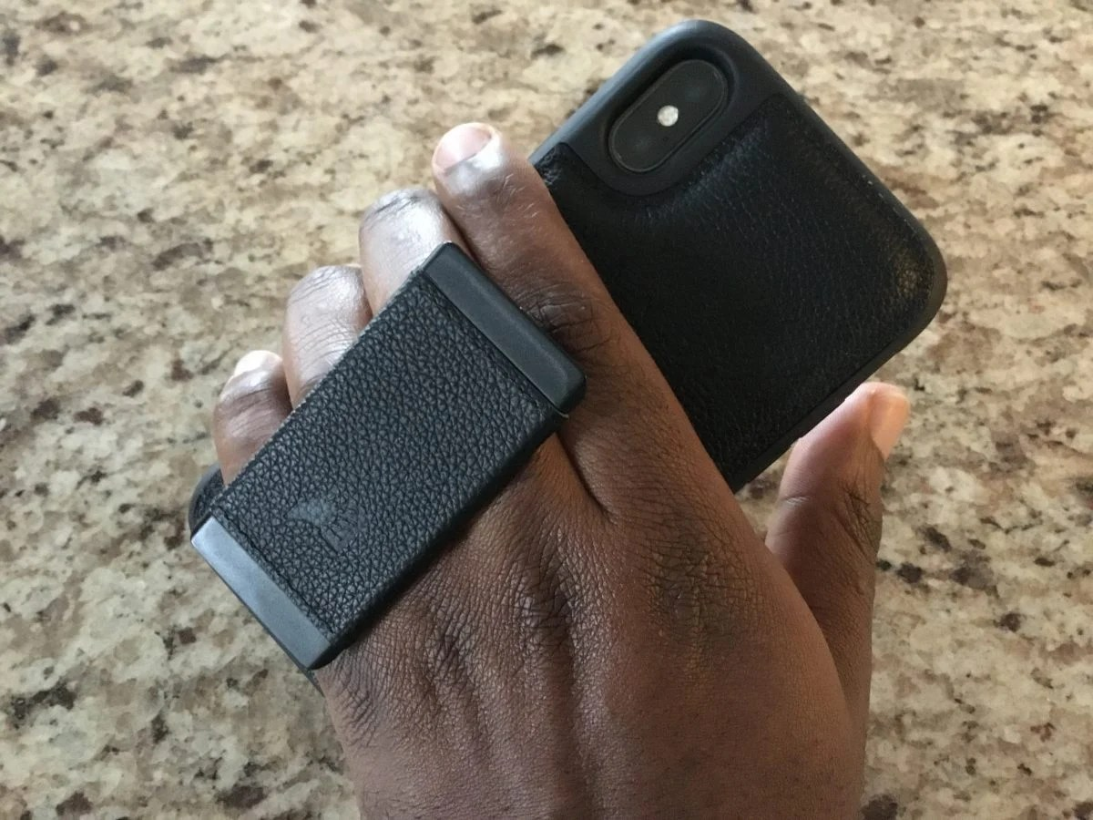 GearDiary Get a HandL on the iPhone X with This Great Leather Case