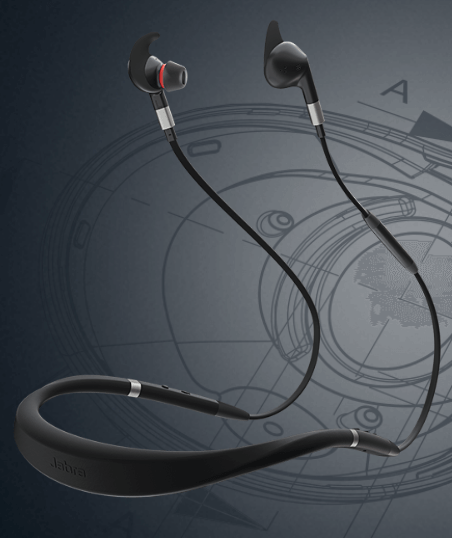 The Jabra Evolve 75e Is a Business-Centric Neckband-Style Wireless Headset