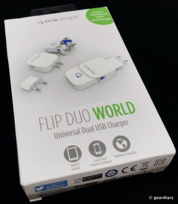 Oneadaptr FLIP Family: Brilliantly Compact World Travel USB Chargers