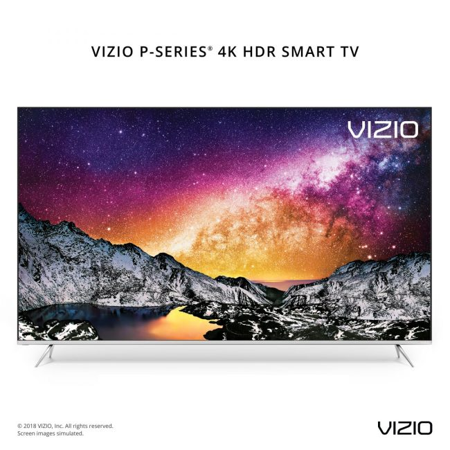 VIZIO's New 2018 TV Lineup Offers the Best Picture to Date