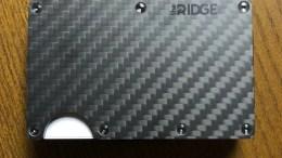 Ridge Carbon Fiber Wallet is Minimal in Design but Offers Maximum Function