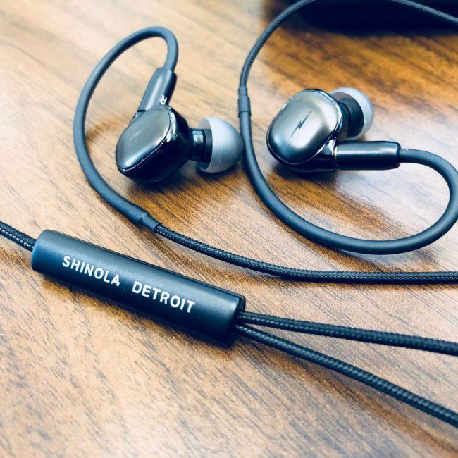 Shinola Canfield In Ear monitors