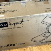 Ergo Impact LeanRite Elite Is the Standing Desk Chair Everyone Needs