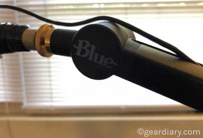 Blue Designs Compass Boom Arm Takes Podcasts to New Heights