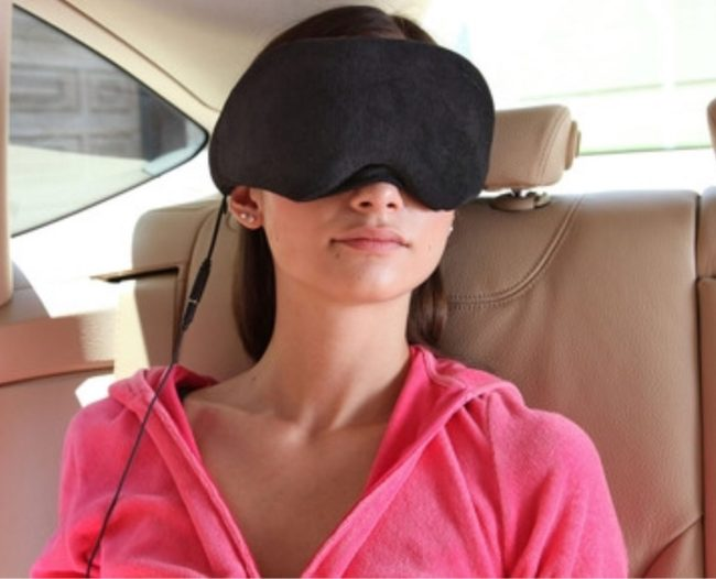Block Light and Rock the Night with the 1 Voice Sleep Headphones Eye Mask