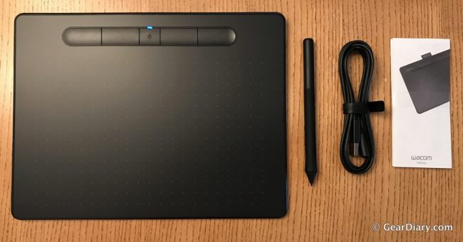 GearDiary Upgraded Wacom Intuos Pen Tablet Brings Your Art to Life