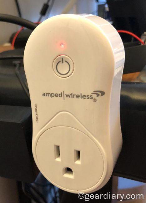 GearDiary Amped Wireless SmartplugBrings Alexa Voice Control to Places You Never Imagined