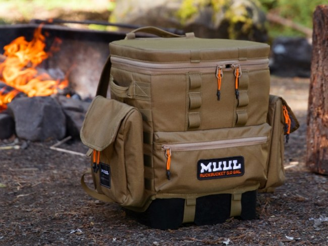 MUUL RuckBucket Really 'Packs' the Punch