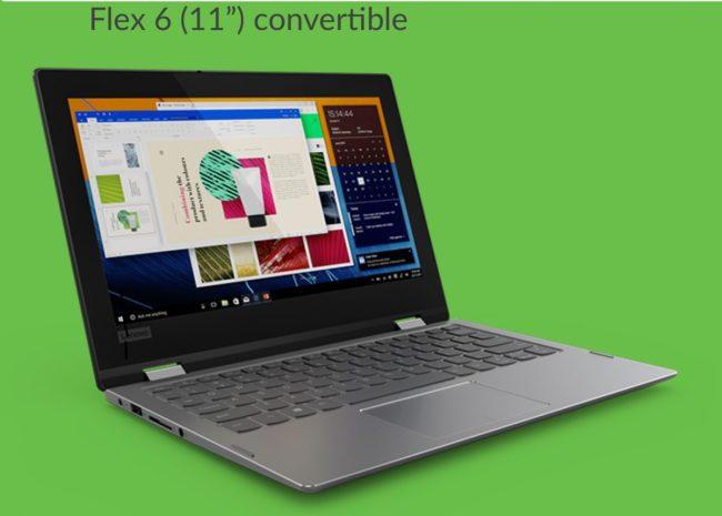 """Lenovo Flex 6 11"""" Convertible Is an Inexpensive Way Into a Convertible PC"""