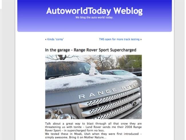 AutoworldDavid Turns 20!