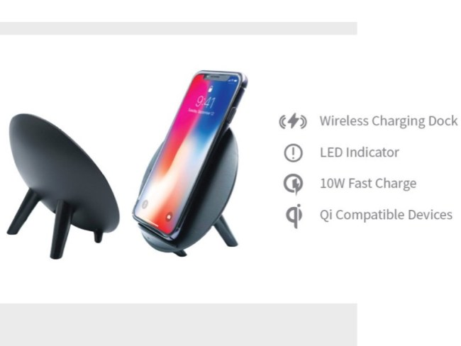 WITTI Design CANDI Wireless Charger 'Stands' Out in the Crowd
