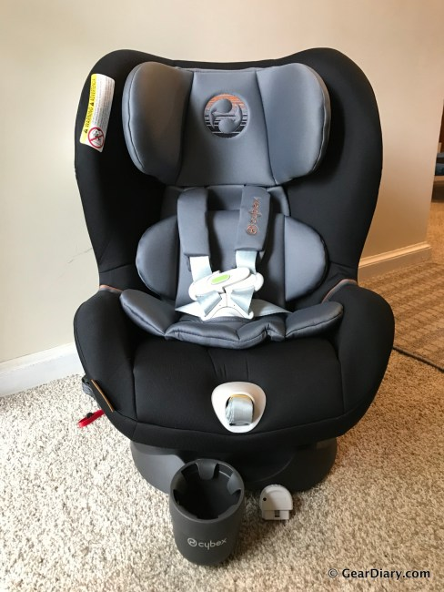 GearDiary Cybex Sirona M with SensorSafe 2.0: The Car Seat That Saves Lives