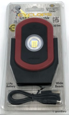 01-MAXXEON CYCLOPS WorkStar 800 Rechargeable LED Inspection Light