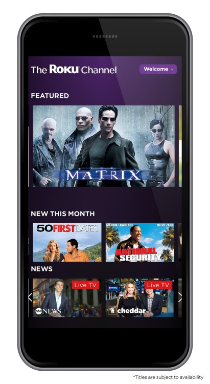 Roku Jumps from Streaming Box to Webpage with the Roku Channel