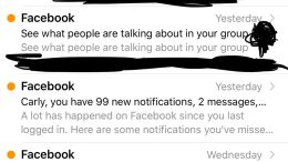 Dear Facebook, I'm Just Not That Into You