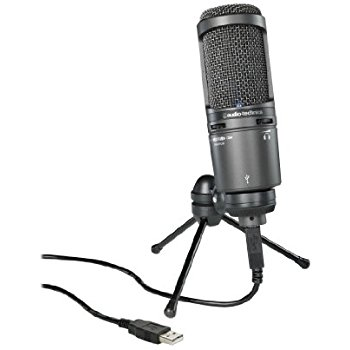 Audio Technica's AT2020 Cardioid Microphone Is a Great Way to Begin Recording Sessions