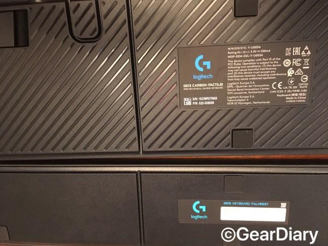 The Logitech G513 Keyboard Review