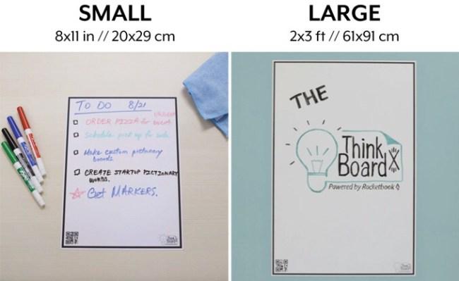 Rocketbook and Think Board Team Up on Kickstarter for a Rocketbook'd Whiteboard