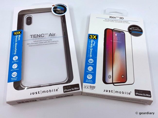 Just Mobile TENC Air and Xkin 3D — Total Protection for Your iPhone XS Max