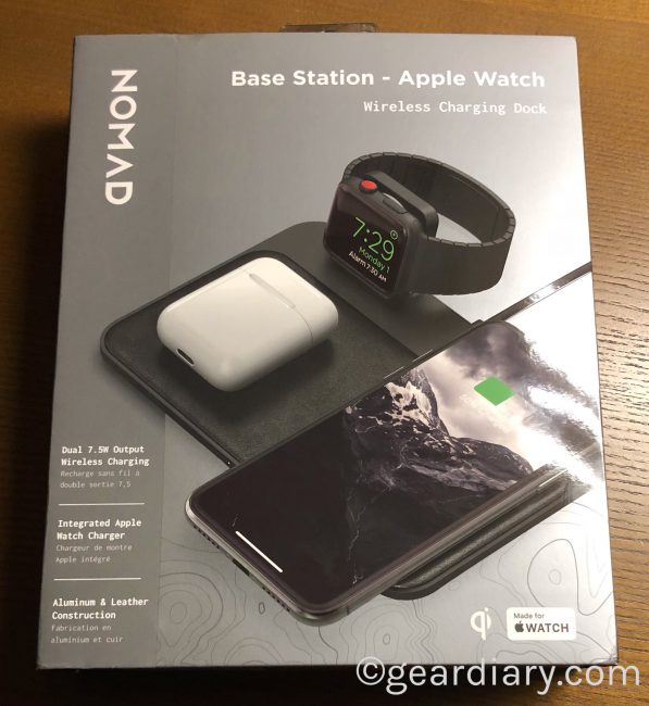 Nomad Base Station Apple Watch Edition Is the New Apple-Geek's Best Friend