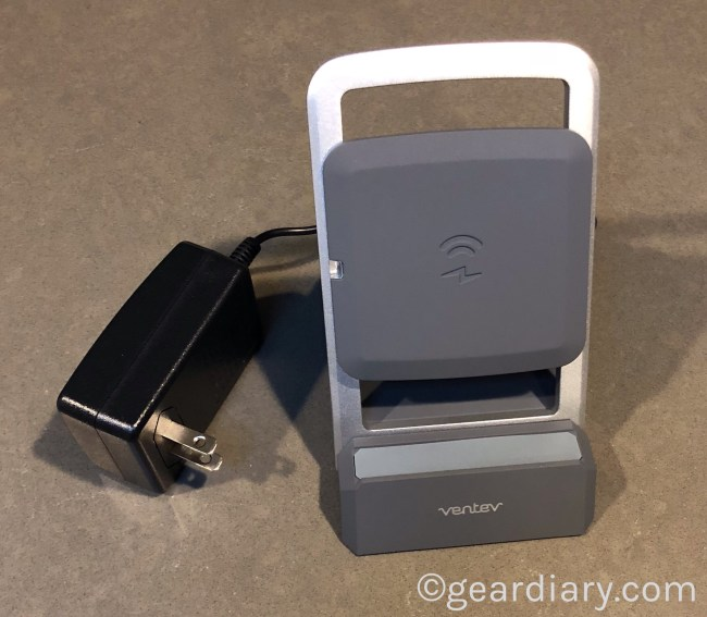 The Ventev Wireless Chargestand Is Fast and Flexible