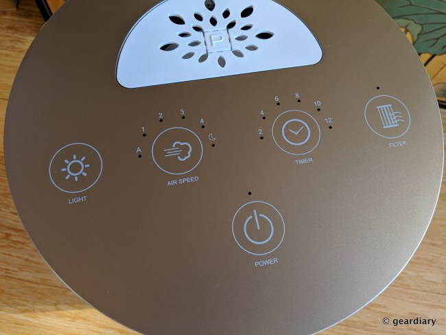 The Pure Company Large Room Air Purifier: Beautiful, Powerful, and Enhanced with Aromatherapy