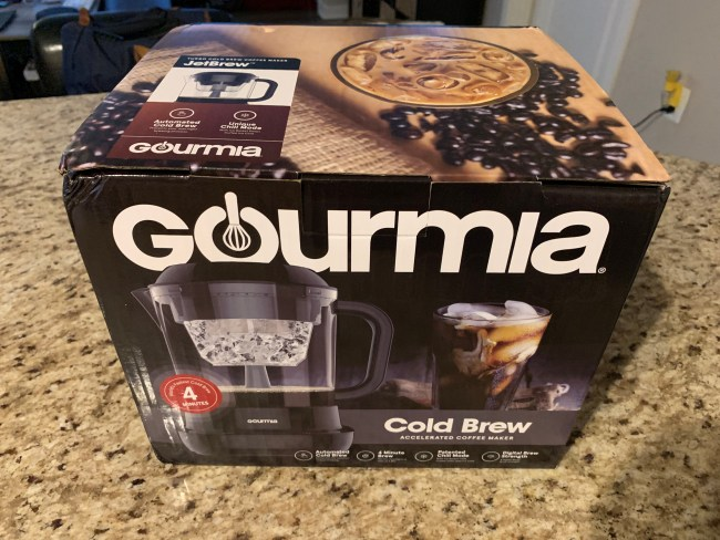 Make Your Iced Coffee at Home with Gourmia's Cold Brew Coffee Maker